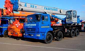 Аренда автокрана грузоподъемностью до 25 тонн