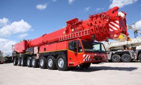 Аренда автокрана 500 тонн - Terex-Demag AC 500-2